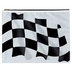 Flag Chess Corse Race Auto Road Cosmetic Bag (xxxl)  by Amaryn4rt