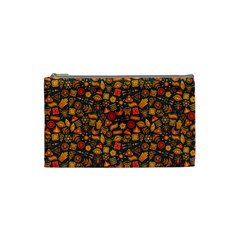 Pattern Background Ethnic Tribal Cosmetic Bag (small)  by Amaryn4rt