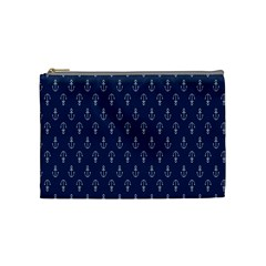 Anchor Pattern Cosmetic Bag (medium)