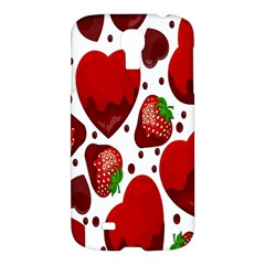 Strawberry Hearts Cocolate Love Valentine Pink Fruit Red Samsung Galaxy S4 I9500/i9505 Hardshell Case by Alisyart