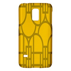 The Michigan Pattern Yellow Galaxy S5 Mini by Simbadda