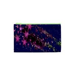 Stars Abstract Shine Spots Lines Cosmetic Bag (xs) by Simbadda
