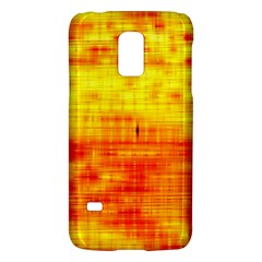 Bright Background Orange Yellow Galaxy S5 Mini by Simbadda