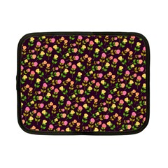 Flowers Roses Floral Flowery Netbook Case (small)  by Simbadda