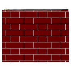 Flemish Bond Cosmetic Bag (xxxl)  by Simbadda