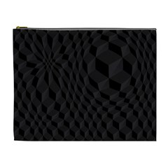 Pattern Dark Texture Background Cosmetic Bag (xl)
