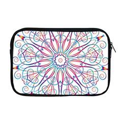 Frame Star Rainbow Love Heart Gold Purple Blue Apple Macbook Pro 17  Zipper Case by Alisyart
