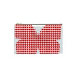 Hearts Butterfly Red Valentine Love Cosmetic Bag (Small)  Front