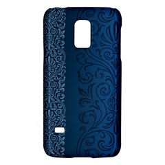 Fabric Blue Batik Galaxy S5 Mini by Alisyart