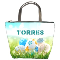 Easter Egg Hunter  Bucket Handbag by strawberrymilkstore8
