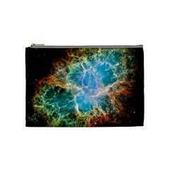 Crab Nebula Cosmetic Bag (medium)  by SpaceShop