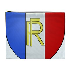 Semi Official Shield Of France Cosmetic Bag (xl) by abbeyz71