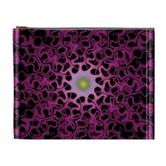 Cool Fractal Cosmetic Bag (xl) by Simbadda