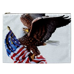 Independence Day United States Cosmetic Bag (xxl)  by Simbadda