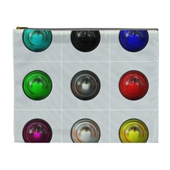 9 Power Buttons Cosmetic Bag (xl)