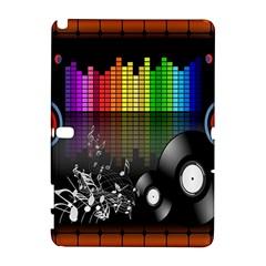 Music Pattern Galaxy Note 1 by Simbadda