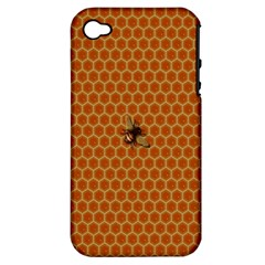 The Lonely Bee Apple Iphone 4/4s Hardshell Case (pc+silicone)