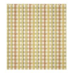 Tomboy Line Yellow Red Shower Curtain 66  X 72  (large)