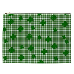St  Patrick s Day Pattern Cosmetic Bag (xxl)  by Valentinaart