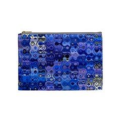 Background Texture Pattern Colorful Cosmetic Bag (medium)  by Amaryn4rt