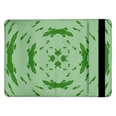 Green Hole Samsung Galaxy Tab Pro 12 2  Flip Case by Alisyart