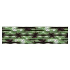 Stripes Camo Pattern Print Satin Scarf (oblong) by dflcprints