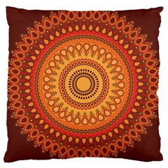Pattern2 Large Cushion Case (two Sided)  by Wanni