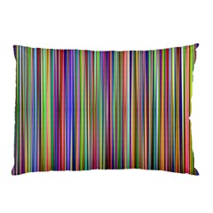 Striped Stripes Abstract Geometric Pillow Case by Amaryn4rt