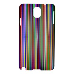 Striped Stripes Abstract Geometric Samsung Galaxy Note 3 N9005 Hardshell Case by Amaryn4rt