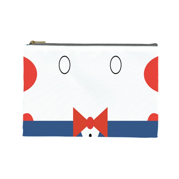 Peppermint Butler Wallpaper Face Cosmetic Bag (Large)