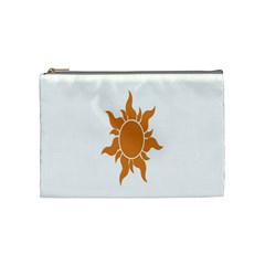 Sunlight Sun Orange Cosmetic Bag (medium)