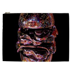 Hamburgers Digital Art Colorful Cosmetic Bag (xxl)  by Simbadda