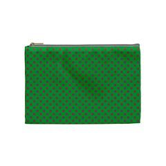 Polka Dots Cosmetic Bag (medium)