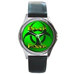 Bauer-Power Round Metal Watch