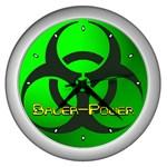 Bauer-Power Wall Clock (Silver)