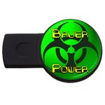 Bauer-Power USB Flash Drive Round (2 GB)
