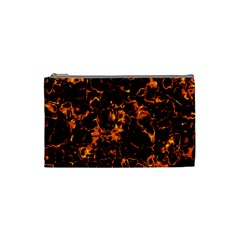 Fiery Ground Cosmetic Bag (small)  by Alisyart