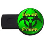 Bauer-Power USB Flash Drive Round (4 GB)