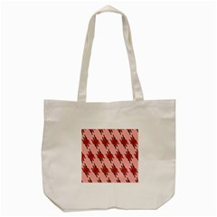 Variant Red Line Tote Bag (cream)