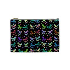 Toys Pattern Cosmetic Bag (medium)