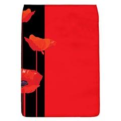 Flower Floral Red Back Sakura Flap Covers (l)