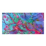 Collection: Acquerello<br>Print Design: Scents of Spring<br>Style: Satin Shawl