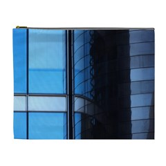 Modern Office Window Architecture Detail Cosmetic Bag (xl) by Simbadda