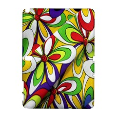 Colorful Textile Background Galaxy Note 1 by Simbadda