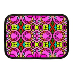Colourful Abstract Background Design Pattern Netbook Case (medium)  by Simbadda