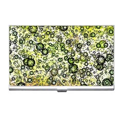 Chaos Background Other Abstract And Chaotic Patterns Business Card Holders by Nexatart