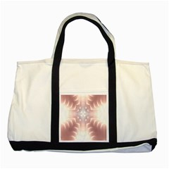 Neonite Abstract Pattern Neon Glow Background Two Tone Tote Bag