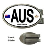 AUS - Australia Euro Oval Money Clip (Oval)