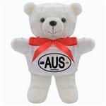 AUS - Australia Euro Oval Teddy Bear