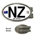 NZ - New Zealand Euro Oval Money Clip (Oval)